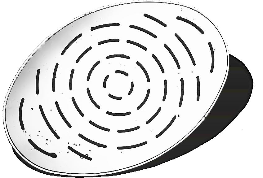Bentley Shower, Oval