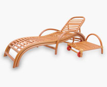 Safari Loungers With Pull Away Table