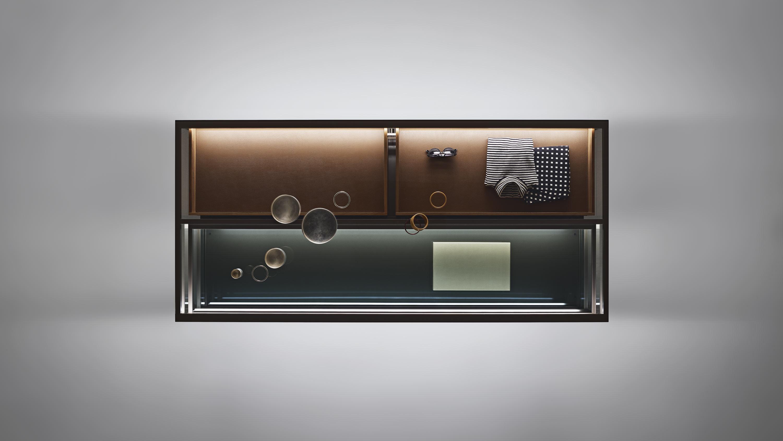 Alambra Isola, middle room display unit