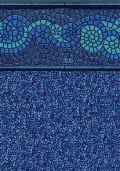 Mystic Island/clear Water Blue Print