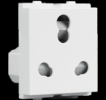 10 25A Shuttered Socket - ACVKCWW253