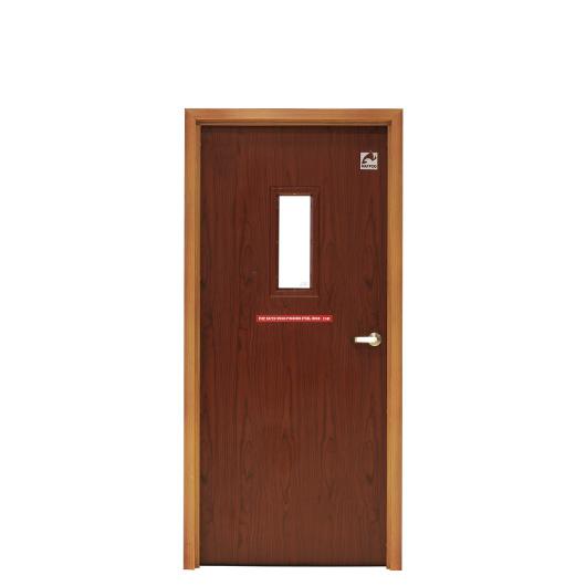 Wood Finished Steel Doors