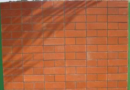 Wall Brick Red Oak - Header