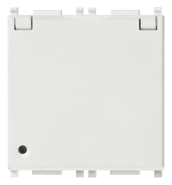2P+E 16A French SICURY outlet+coverwhite