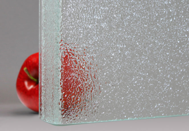 Ice Channel Glass Ultra-Brilliant Low-Iron or Regular