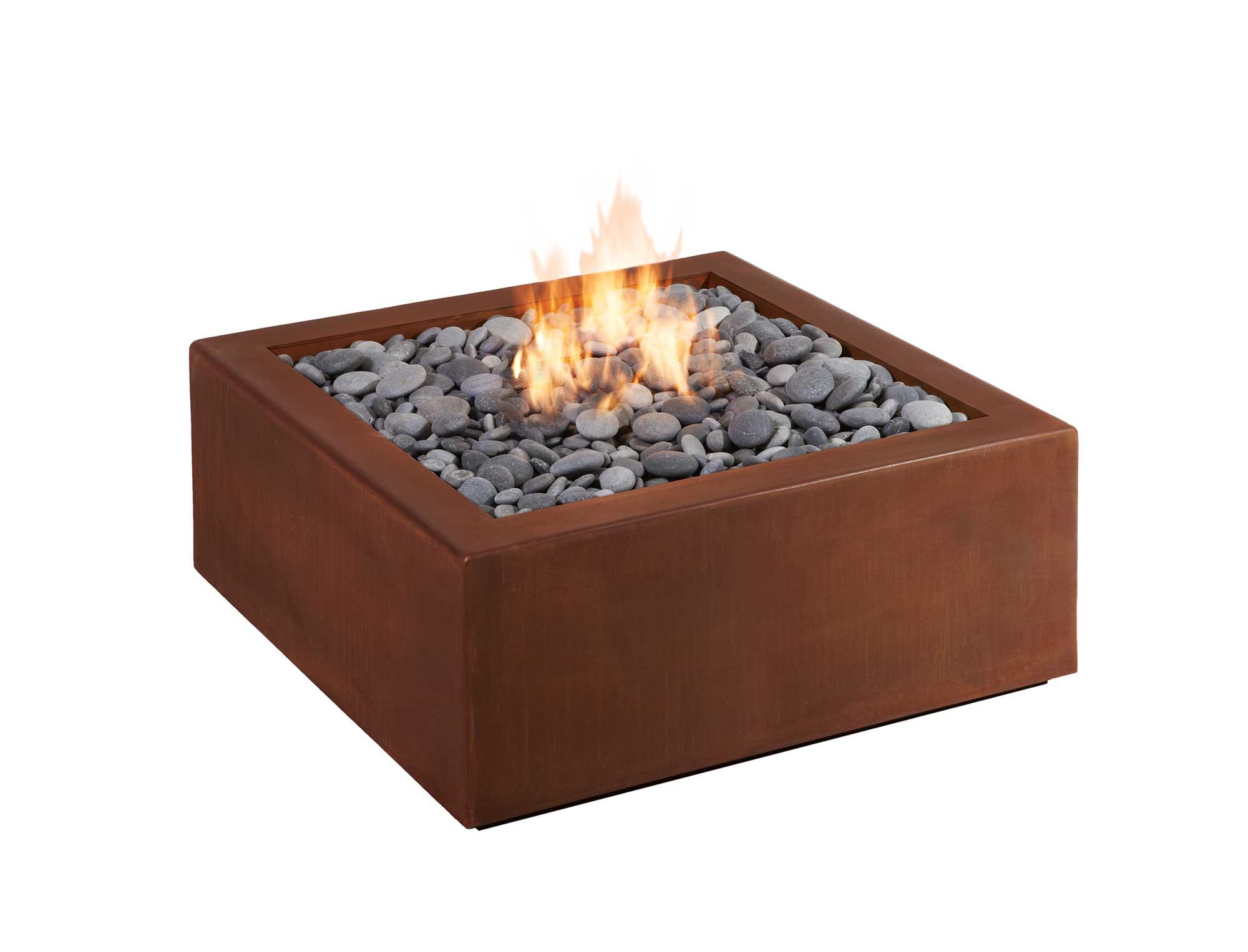 Bento Corten Fire Pit