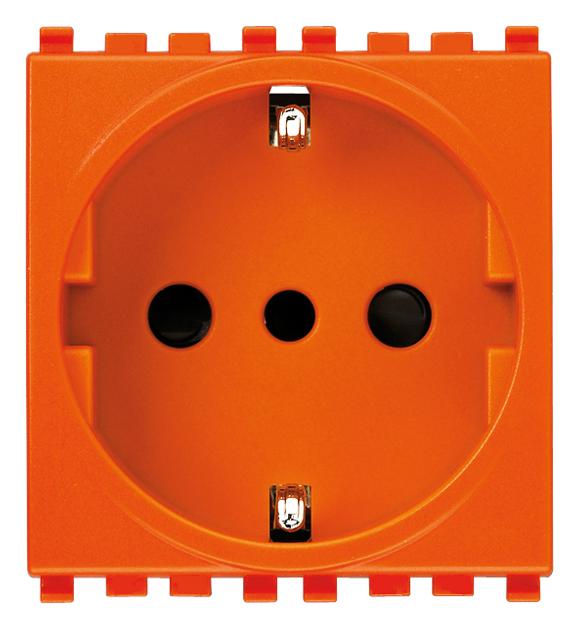 2P+E 16A P30 outlet orange