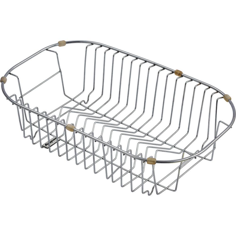 Wire Basket - AWB1001S   Kitchen Dish Draining Steel Basket
