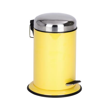 Cosmetic Pedal Bin Retoro Yellow