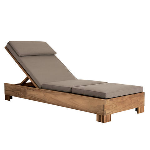 Reeded Armless Chaise
