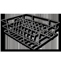 Right Angle Basket - Thali