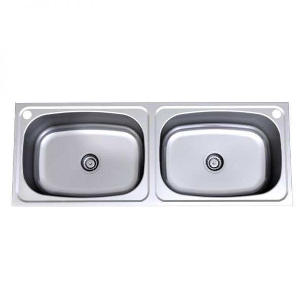Double 45 Litre Flushline Tub