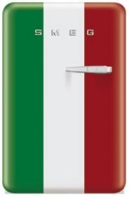 EAN13 8017709164072  SINGLE DOOR REFRIGERATOR, ITALIAN FLAG, 50'S RETRO STYLE, ENERGY RATING A+