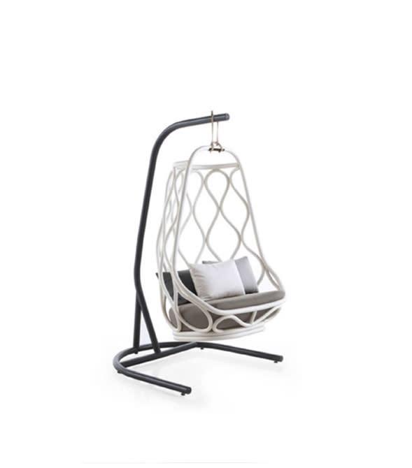 Nautica Swing chair with base