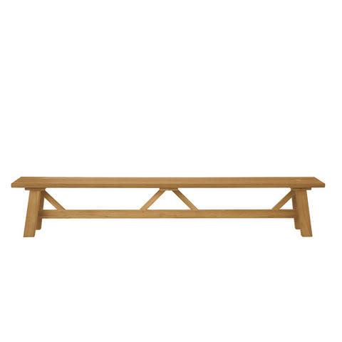 Hameau Large Bench