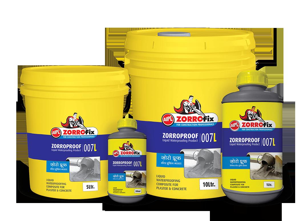 Zorroproof Waterproofing Masters - Liquid Water Proofing