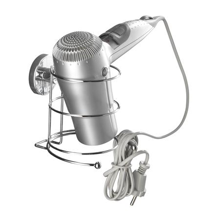 Vacuum-Loc hair dryer holder