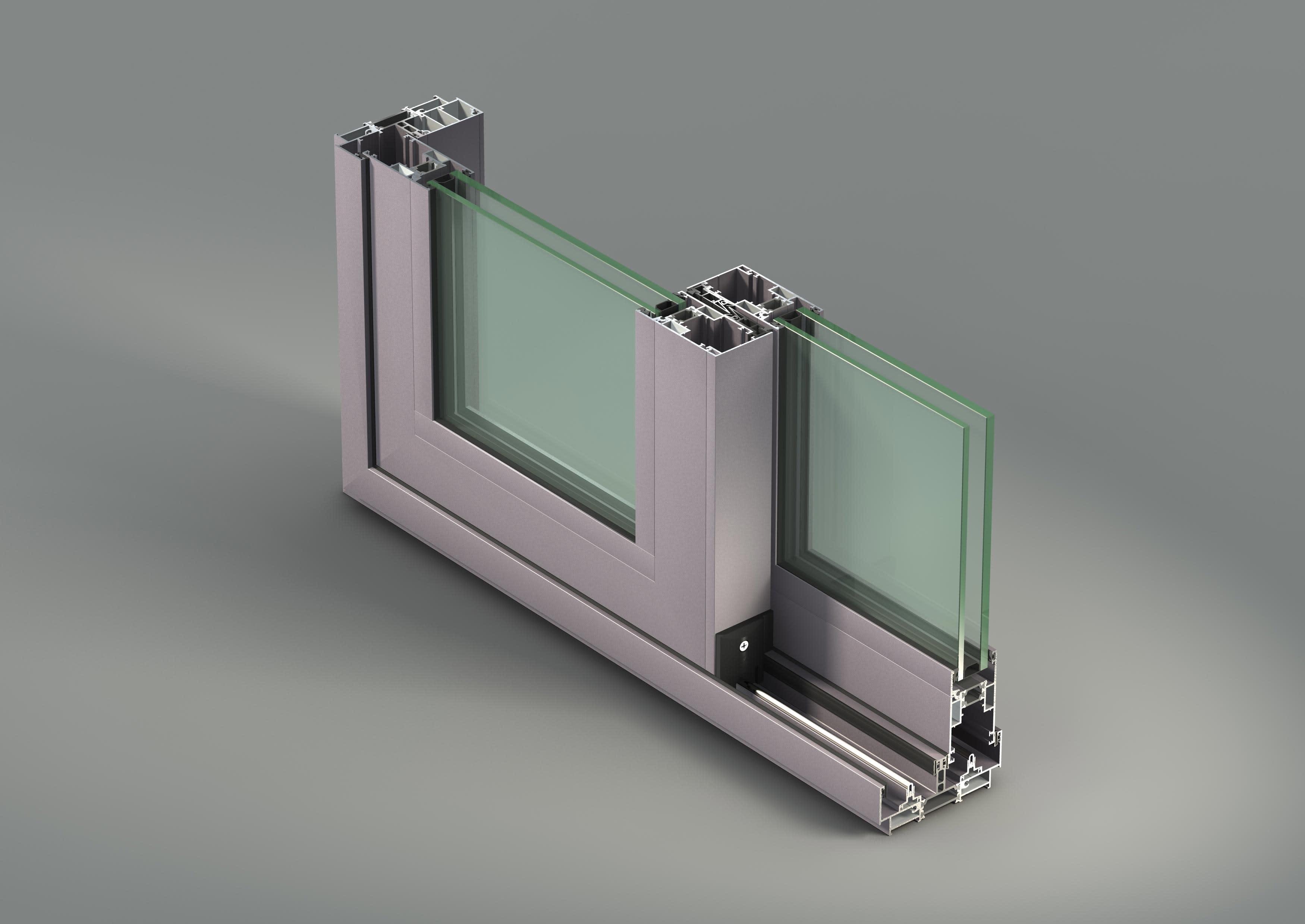 Sliding windows-NC-S 120 STH