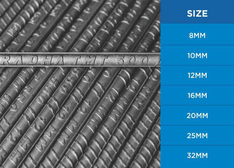 500 TMT Bars