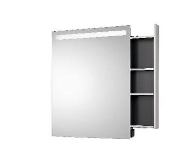 Mirror Cabinet Monolith, Tray Right, IP 44.