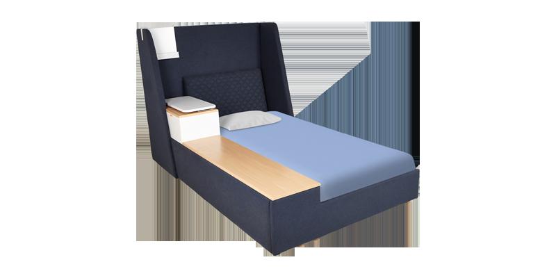 Lagoon Single Bed - Blue