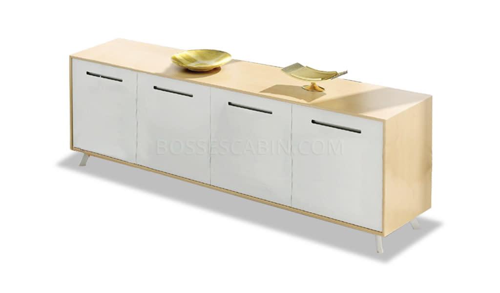 Kross Four Door Low Filing Cabinet - Bcsk-96-2.4
