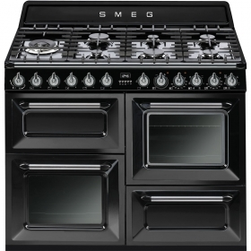 TR4110BL1 Cooker, 110x60 Cm, Victoria, Black, Gas Hobs, Energy Rating A