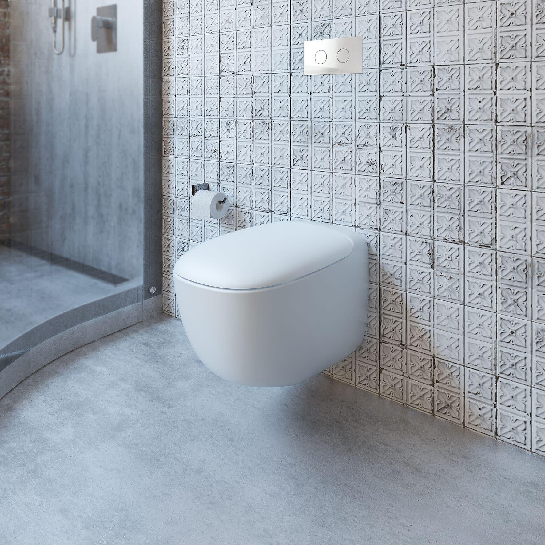 Contura Wall Hung Invisi II Toilet Suite