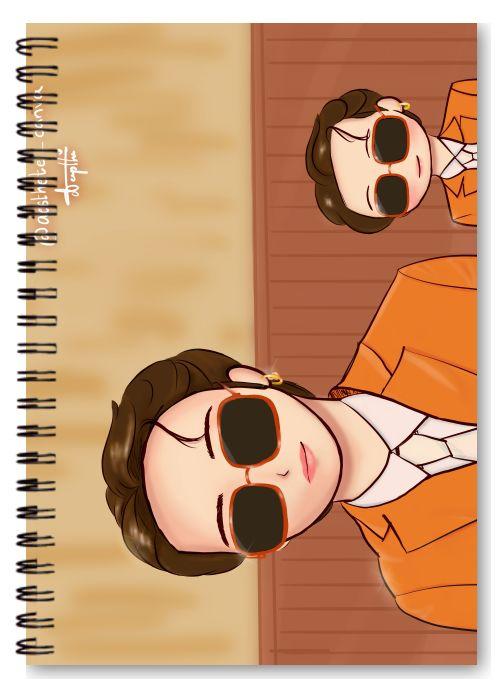 bts note book