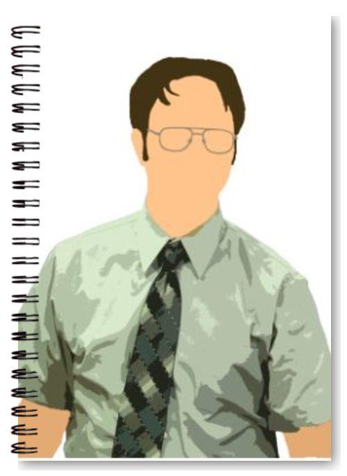 Dwight Schrute vector