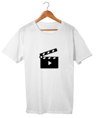 Film Clapper Minimal T-Shirt