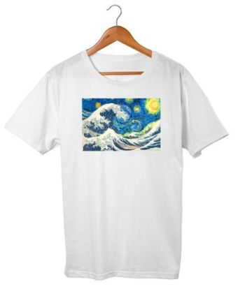 The Starry Night + The Great Wave