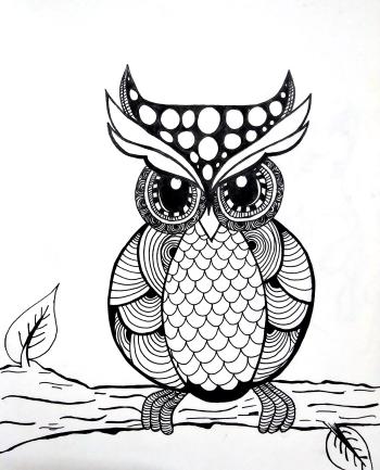 The_Intriguing_Mandala Owl
