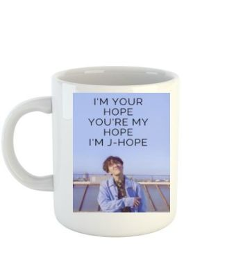 J-HOPE MUG- BTS ARMY