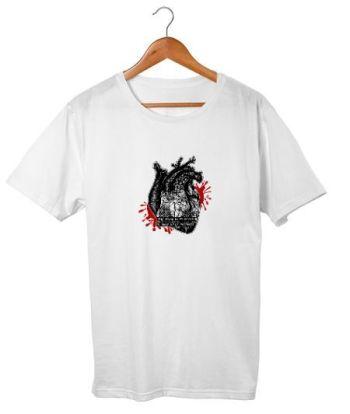 Jet Black Heart T-shirt I