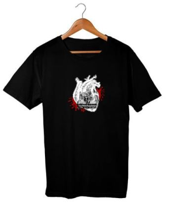 Jet Black Heart T-shirt II