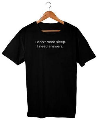 Sleep or Answers