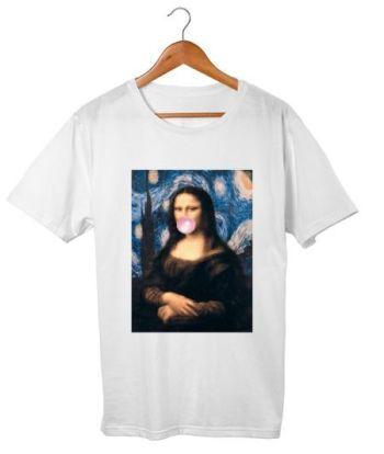 Mona Lisa bubble gum