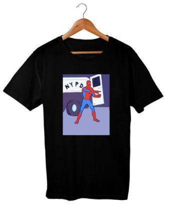 Spidey on the Left - Spiderman Meme