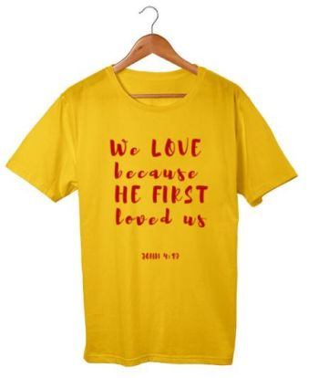 We love because he first loved us