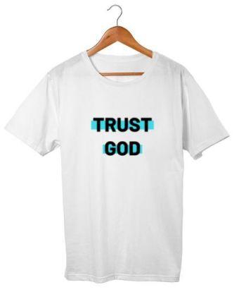 Trust God blue shade