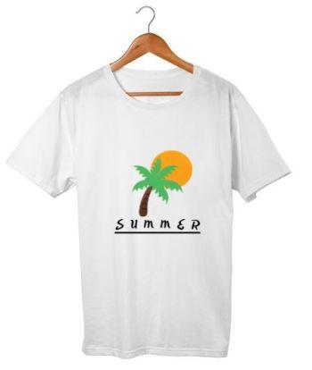 Summer minimal t shirt