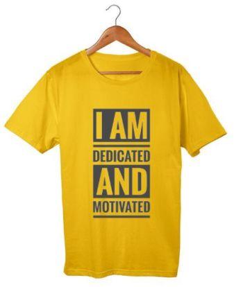 Motivation quotes cotton t-shirt