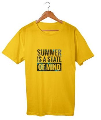 Summer is state of mind cotton t-shirt