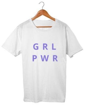 Girl power design for women