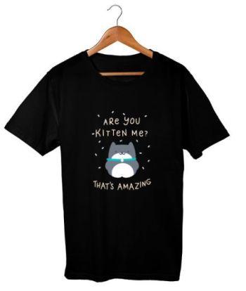 Kitty design t-shirt for cat lovers