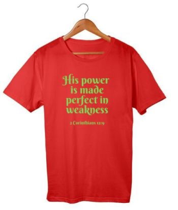 His power is made perfect in weakness