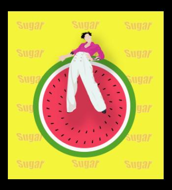 Watermelon sugar high!