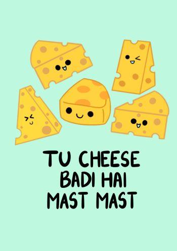 Tu cheese badi mast - Light green