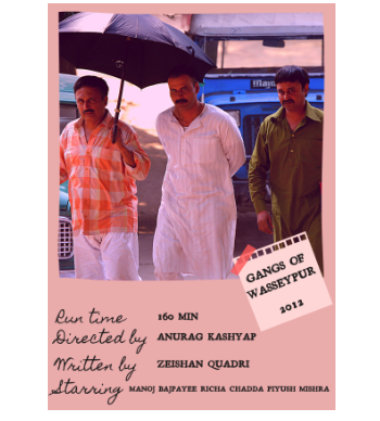 Gangs of WASSEYPUR Polaroid still